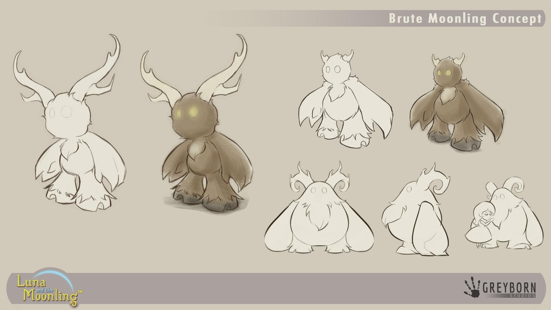 Brute Moonling Concept Art