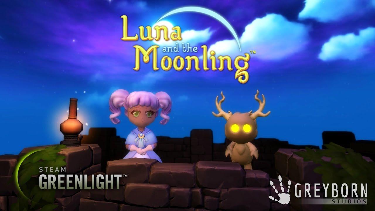 Luna & The Moonling - Greenlight Trailer