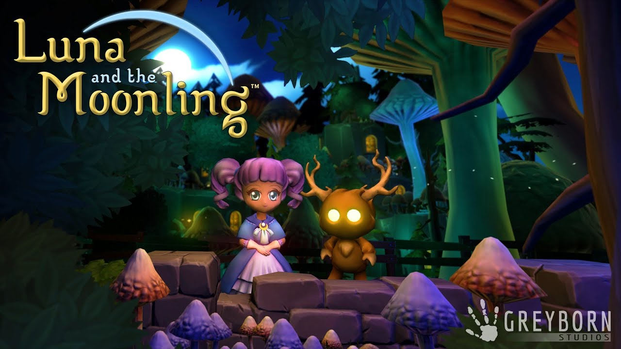 Luna and the Moonling - Gameplay Trailer 1